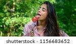 seductive appetite. woman full... | Shutterstock . vector #1156683652