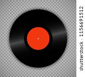retro vinyl record isolated on... | Shutterstock .eps vector #1156691512