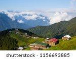 pokut plateau rize camlihemsin... | Shutterstock . vector #1156693885