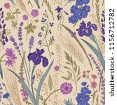 summertime. seamless pattern.... | Shutterstock .eps vector #1156712782