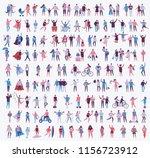 vector illustration in a flat... | Shutterstock .eps vector #1156723912