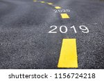 number of 2019 to 2023 on... | Shutterstock . vector #1156724218