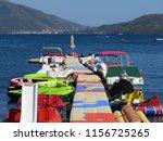 marmaris  turkey   august 2018  ... | Shutterstock . vector #1156725265