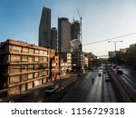 infrastructure in mexico city... | Shutterstock . vector #1156729318