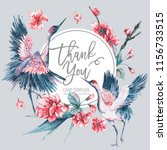 vector spring invitation ... | Shutterstock .eps vector #1156733515
