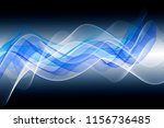 abstract blue background | Shutterstock . vector #1156736485