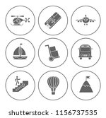 shipping icons set   delivery... | Shutterstock .eps vector #1156737535