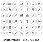 repair tools icons set  ... | Shutterstock .eps vector #1156737565