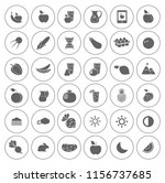 nature icons set   environment... | Shutterstock .eps vector #1156737685