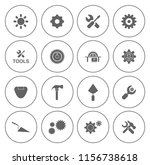 industrial icons set   power... | Shutterstock .eps vector #1156738618