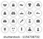 fashion design icons set  ... | Shutterstock .eps vector #1156738732