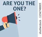 are you the one announcement.... | Shutterstock .eps vector #1156748005