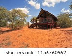 a safari lodge at a wildlife...   Shutterstock . vector #1156760962