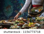 indonesian cuisine   many... | Shutterstock . vector #1156773718