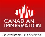 red maple leaf from canada flag....   Shutterstock .eps vector #1156784965