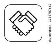 handshake icon. hands shaking...