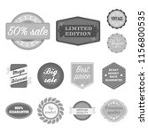 different label monochrome... | Shutterstock . vector #1156800535