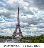 Paris France Eiffel Tower View - Fine Art prints