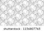 matte white body shape with... | Shutterstock . vector #1156807765