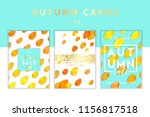trendy and elegant autumn...   Shutterstock .eps vector #1156817518