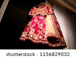 indian bridal ceremony wedding... | Shutterstock . vector #1156829032
