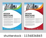 brochure design  cover modern... | Shutterstock .eps vector #1156836865