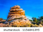 red rock canyon sandstone... | Shutterstock . vector #1156841395