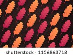 autumn background with leaves... | Shutterstock .eps vector #1156863718