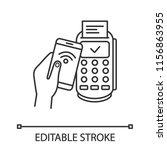 successful nfc smartphone... | Shutterstock .eps vector #1156863955