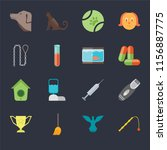 set of 16 icons such as toy ... | Shutterstock .eps vector #1156887775