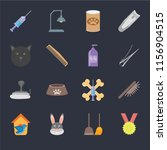 set of 16 icons such as winner  ...