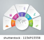infographics design vector and... | Shutterstock .eps vector #1156915558