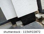 foundation waterproofing with... | Shutterstock . vector #1156922872