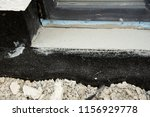 foundation waterproofing with... | Shutterstock . vector #1156929778