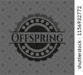 offspring dark badge | Shutterstock .eps vector #1156932772