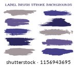 textured label brush stroke... | Shutterstock .eps vector #1156943695