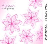 abstract floral background of...   Shutterstock .eps vector #1156974982