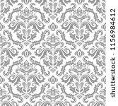 orient vector classic pattern....   Shutterstock .eps vector #1156984612