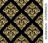 classic seamless vector golden...   Shutterstock .eps vector #1156984615