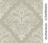 classic seamless vector white...   Shutterstock .eps vector #1156984642