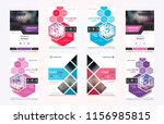 cover design template for... | Shutterstock .eps vector #1156985815