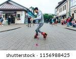 may 13  2018 minsk belarus... | Shutterstock . vector #1156988425