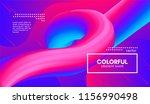 abstract 3d gradient background ... | Shutterstock .eps vector #1156990498