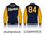 varsity jacket design...   Shutterstock .eps vector #1156995925