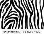 zebra stripes pattern. zebra... | Shutterstock .eps vector #1156997422