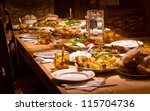 traditional georgian food | Shutterstock . vector #115704736