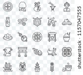 set of 25 transparent icons... | Shutterstock .eps vector #1157047555