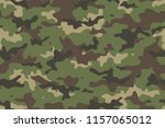 camouflage seamless pattern.... | Shutterstock .eps vector #1157065012