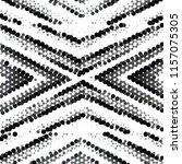abstract grunge grid stripe... | Shutterstock .eps vector #1157075305