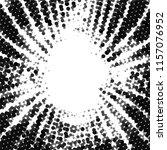grunge halftone black and white ... | Shutterstock .eps vector #1157076952